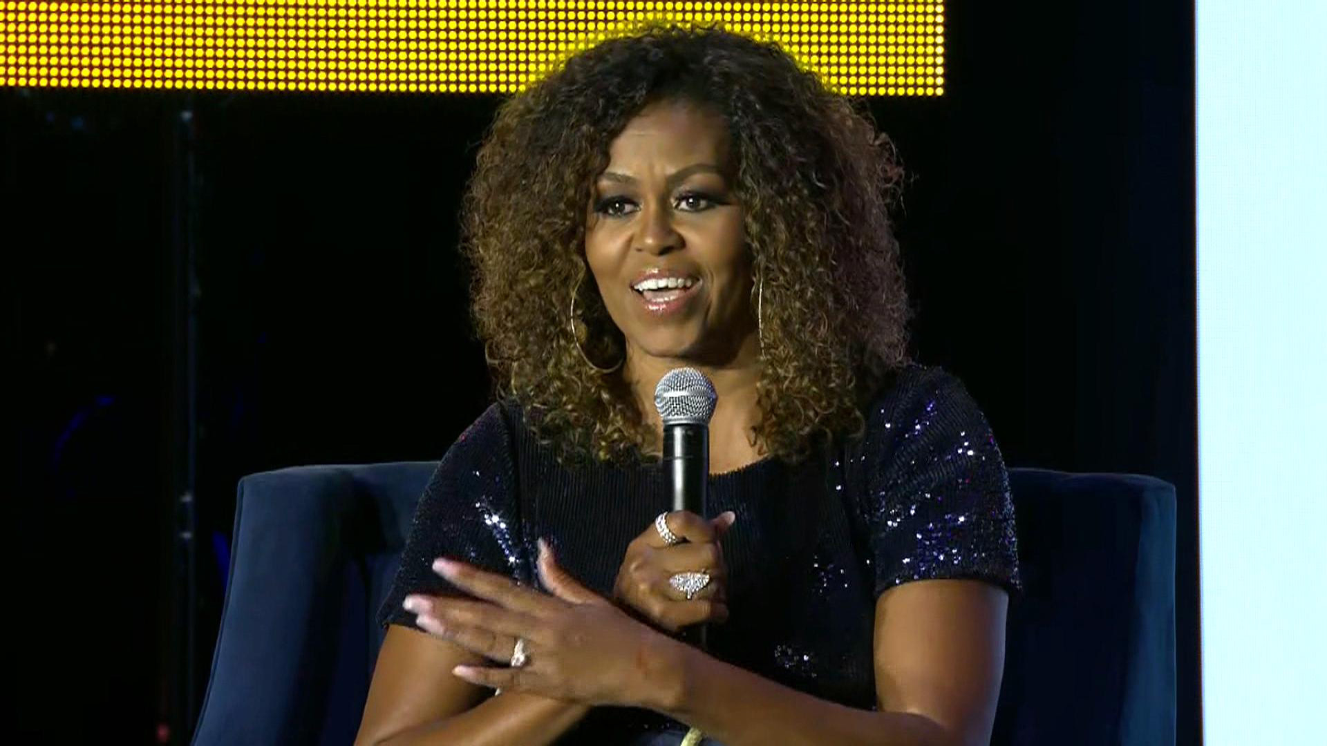Michelle Obama opens up to Gayle King