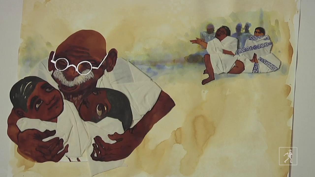 Arun Gandhi, Bethany Hegedus, and Evan Turk on Grandfather Gandhi