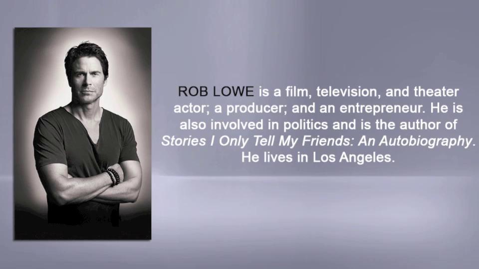 Rob Lowe on his LOVE LIFE audiobook