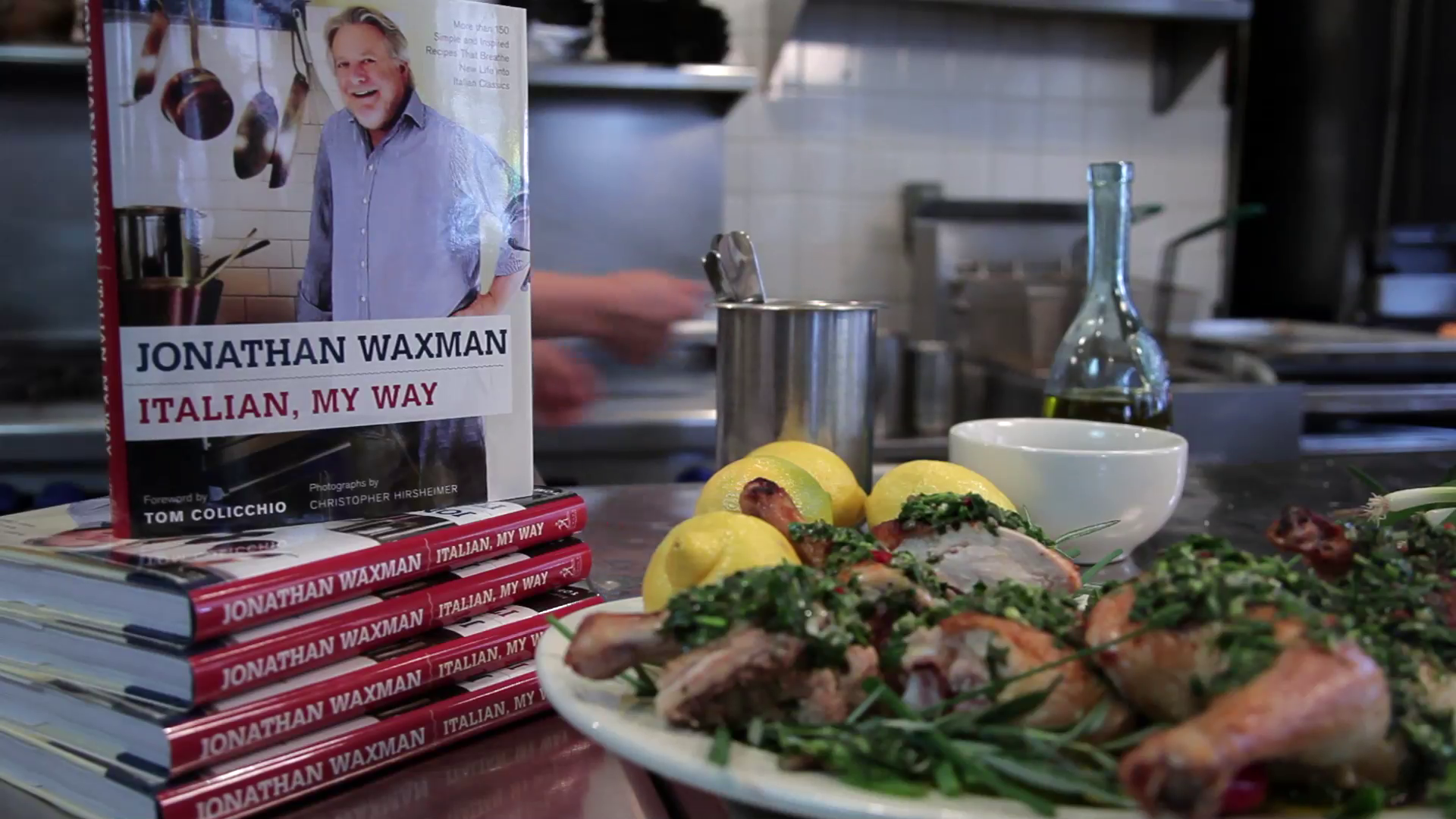 Top Chef Master, Jonathan Waxman Shares Italian, My Way