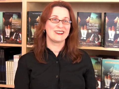 Novelist Audrey Niffenegger discusses Her Fearful Symmetry