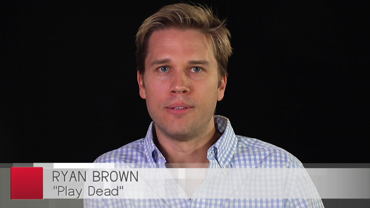 Writer Ryan Brown discusses his book PLAY DEAD