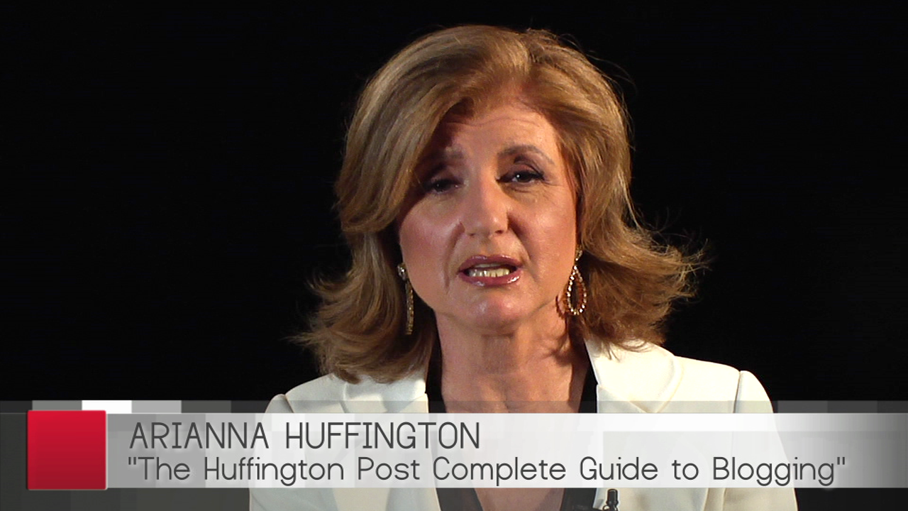 Pundit Arianna Huffington Offers These Wise Words to Readers and Bloggers