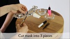 Stand out with this DIY Tattoo Mask from DIY Temporary Tattoo Art