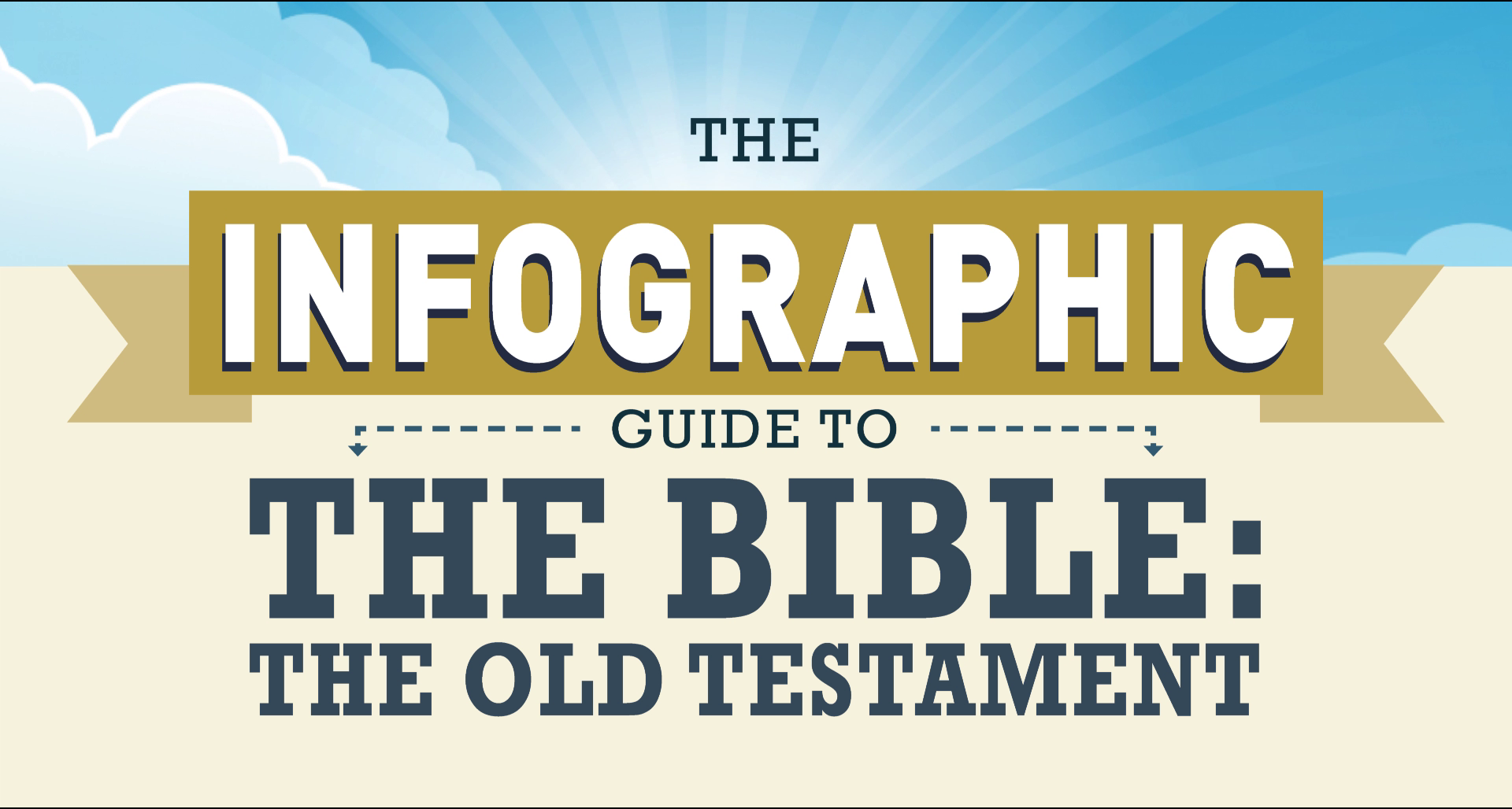 INFOGRAPHIC GUIDE TO THE BIBLE: THE OLD TESTAMENT: NOAH'S ARK BY THE NUMBERS!