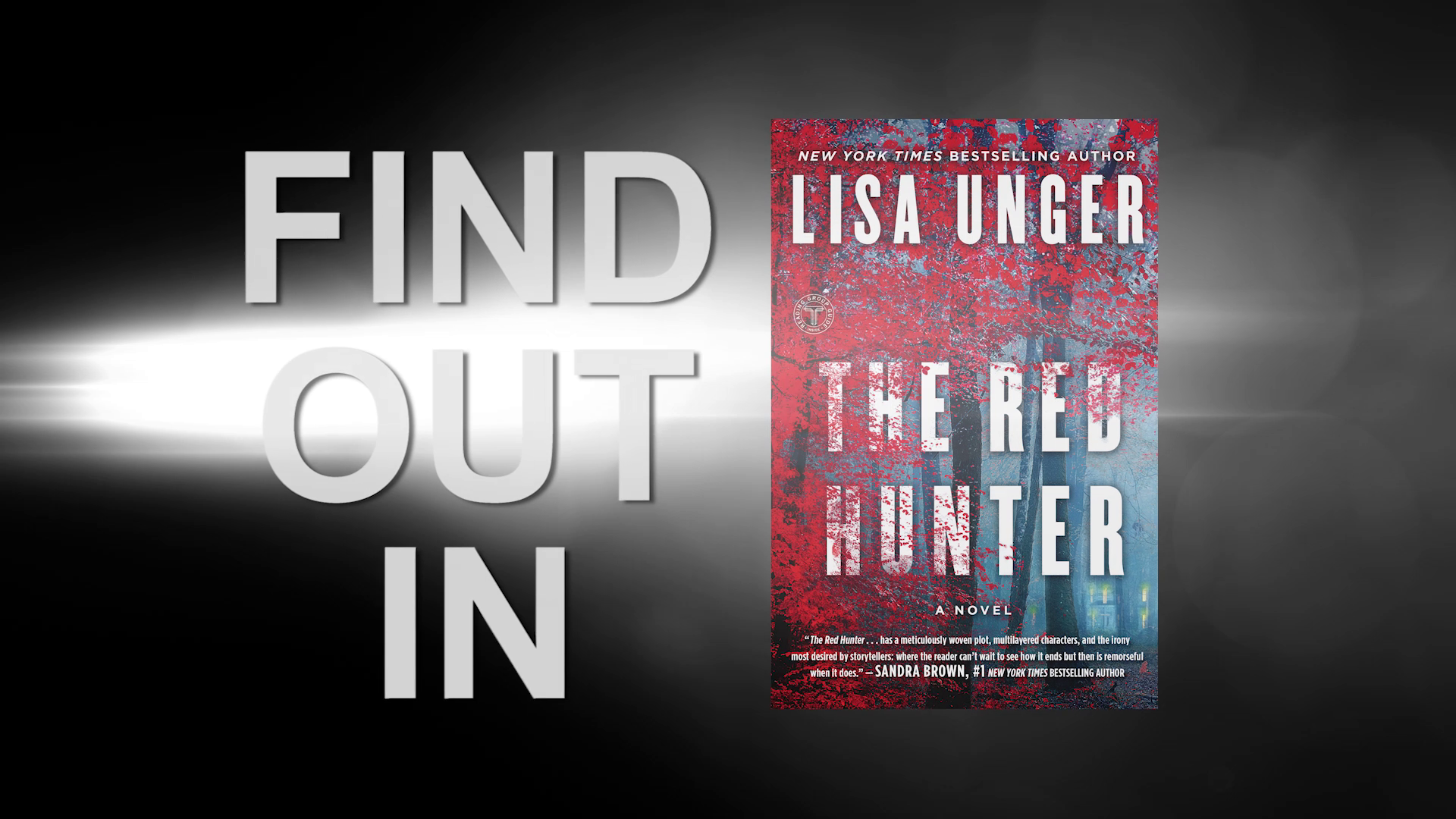 THE RED HUNTER by Lisa Unger | Official Paperback Book Trailer