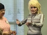 Dolly Parton Surprises Senior Citizens in Her Hometown