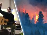 Neil Diamond Comes Out of Retirement to Serenade Colorado Firefighters