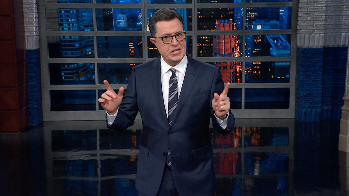 Watch The Late Show with Stephen Colbert: The President Is Facing 17 Investigations