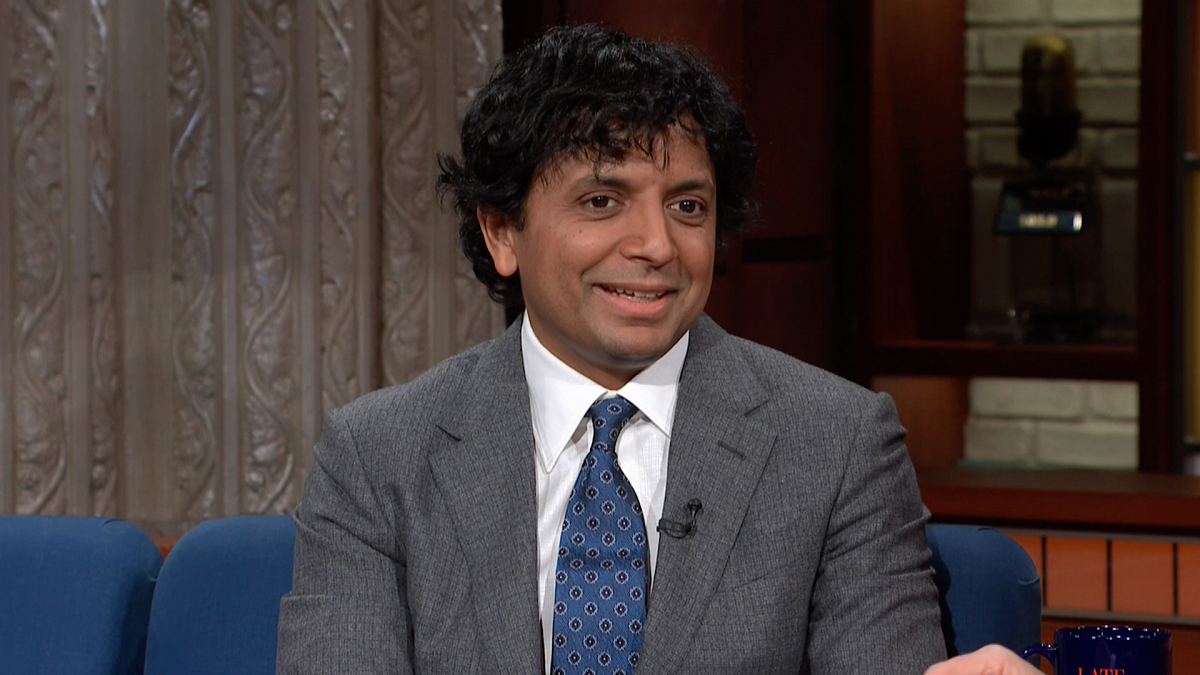 Watch The Late Show with Stephen Colbert: M. Night Shyamalan Says 'Thanks, Universe'
