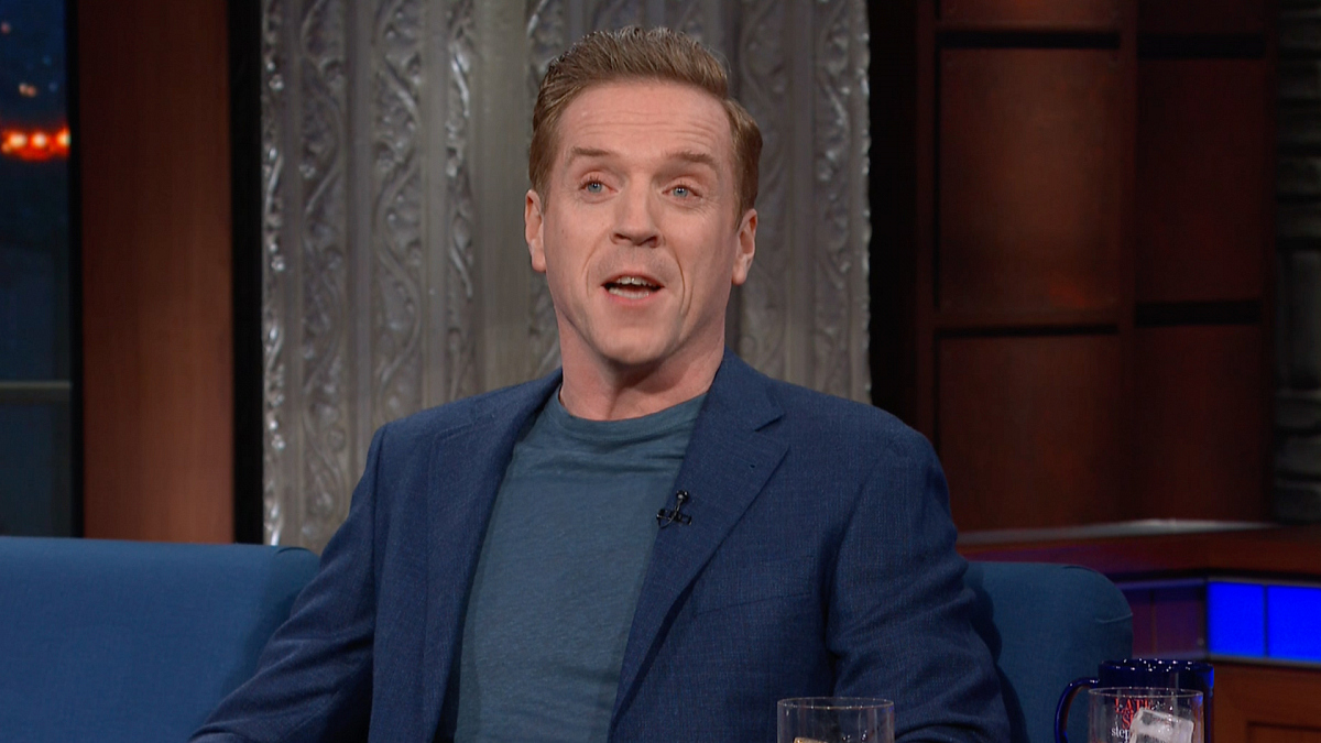 Watch The Late Show with Stephen Colbert: Damian Lewis Lost A Sword Fight Mid-Show