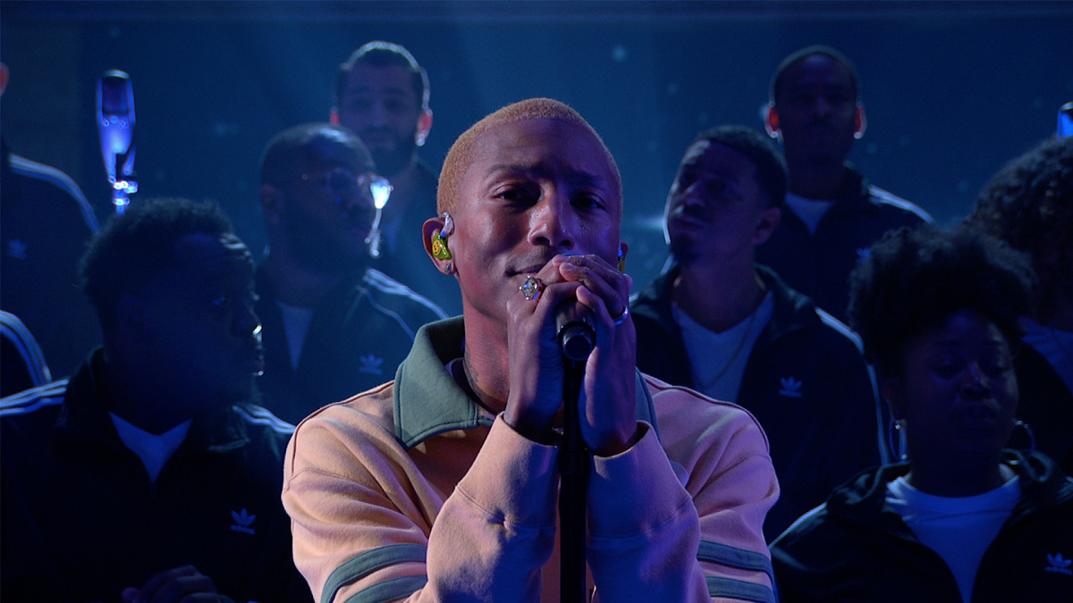 Watch The Late Show with Stephen Colbert: Pharrell Williams: ''Letter To My Godfather'' - Full show on CBS All Access