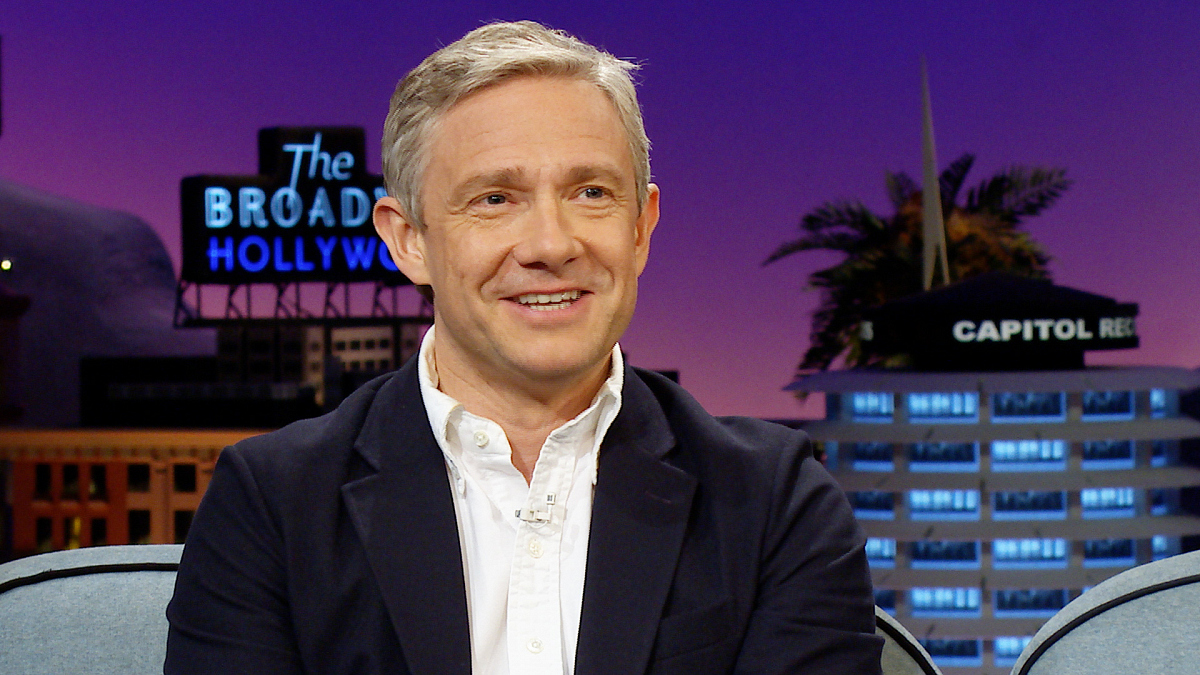 Martin Freeman on The Late Late Show with James Corden
