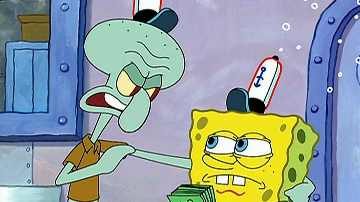Watch SpongeBob SquarePants Season 2 Episode 20: Squid on ...