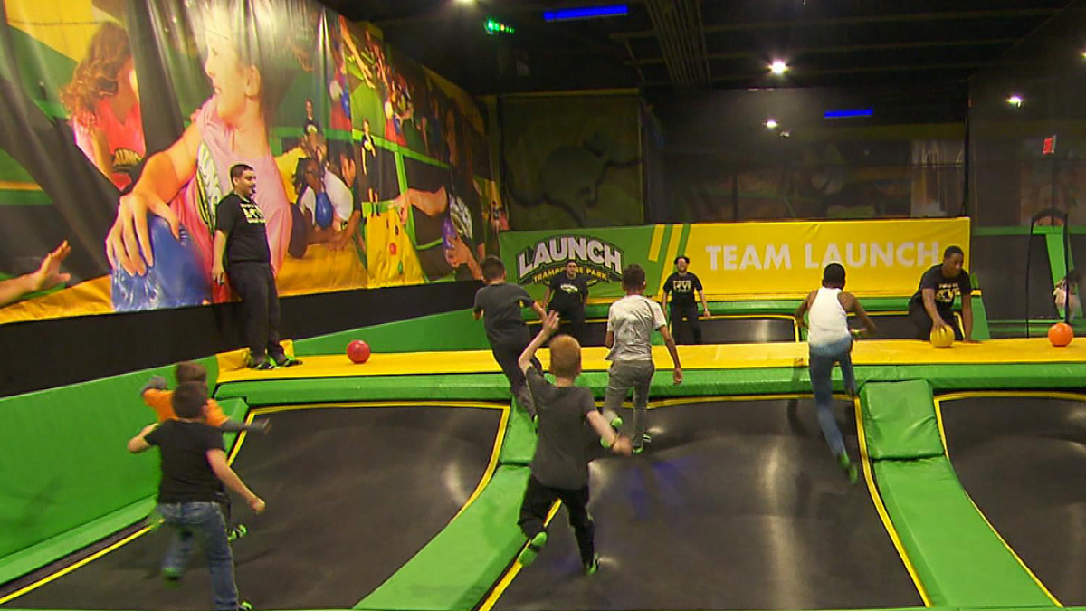 Watch CBS This Morning: New research on trampoline park ...