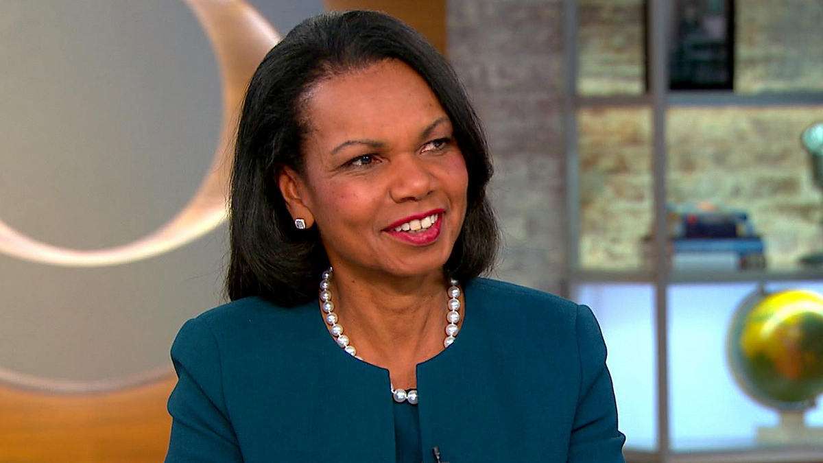 Watch Cbs This Morning Condoleezza Rice On New Book