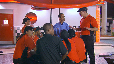 Undercover Boss - Checkers & Rally's