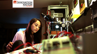 Innovation Nation - Hollow Flashlight Girl