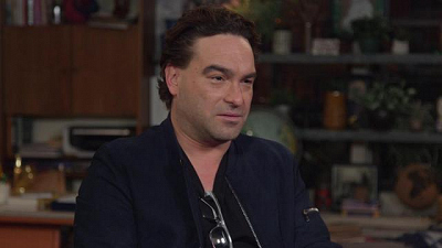 Living Biblically - Johnny Galecki Thinks Living Biblically's Chip Is Much Cooler Than Leonard