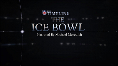 NFL on CBS - The Timeline: Ice Bowl