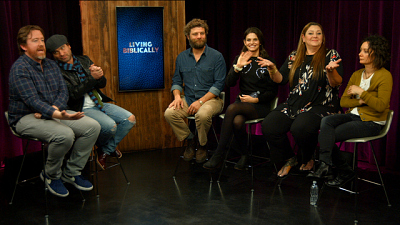 Living Biblically - Living Biblically Cast And Creators Share Learnings And Laughs About Righteous New Show