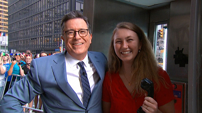 The Late Show with Stephen Colbert - Stephen Colbert's Millennial Tutorial: Pay Phone Edition