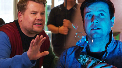 The Late Late Show with James Corden - James Corden Turns a Starbucks Into a Movie Set w/ Taran Killam