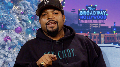 The Late Late Show with James Corden - Ice Cube Couldn't Get In to N.W.A.'s First Listening Party