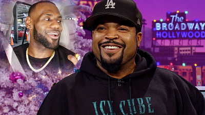 The Late Late Show with James Corden - Is Ice Cube Responsible for LeBron in LA??