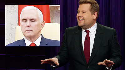 The Late Late Show with James Corden - Mike Pence Was Somehow All of Us Today