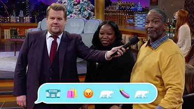 The Late Late Show with James Corden - Emoji News: Christmas/Wedding Anniversary Edition