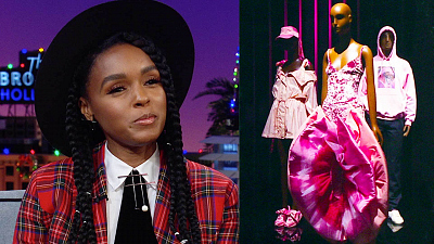 The Late Late Show with James Corden - No, James, You Cannot Wear Janelle Monáe's 'Pink' Dress
