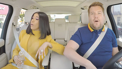 The Late Late Show with James Corden - Cardi B Carpool Karaoke: Coming Monday