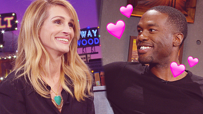 The Late Late Show with James Corden - Yahya Abdul-Mateen II Meets His First Crush, Julia Roberts