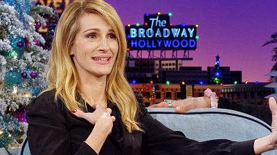 The Late Late Show with James Corden - What Superhero Role Could Julia Roberts Tackle?