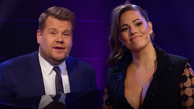 The Late Late Show with James Corden - Ashley Graham & James Corden Love You 'Just The Way You Are'