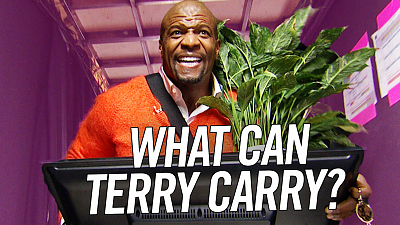 The Late Late Show with James Corden - What Can Terry Carry? w/ Terry Crews