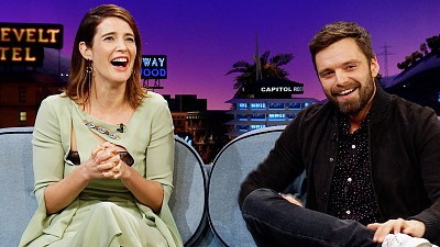 The Late Late Show with James Corden - Avengers Theories: Cobie Smulders, Sebastian Stan & Reggie Watts