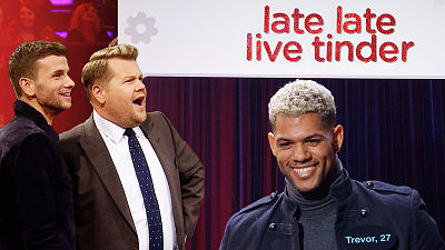 The Late Late Show with James Corden - Late Late Live Tinder w/ Collin Martin