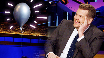 The Late Late Show with James Corden - Mysterious Balloon Interrupts The Show