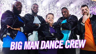 The Late Late Show with James Corden - Meet the NFL's First Big Man Dance Crew