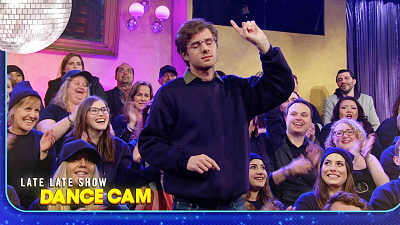 The Late Late Show with James Corden - Audience Member Blows It On the Dance Cam
