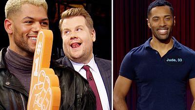 The Late Late Show with James Corden - Late Late Live Tinder w/ Fan-Favorite Trevor
