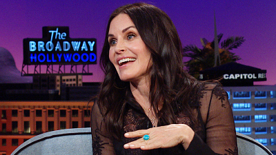 The Late Late Show with James Corden - Courteney Cox Talks About Losing Her Virginity at 21