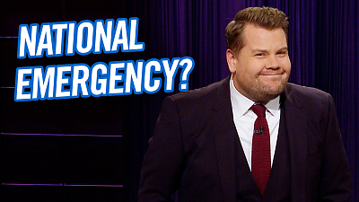 The Late Late Show with James Corden - Apparently We're Almost In a National State of Emergency