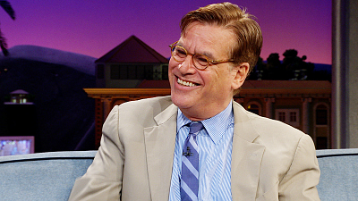 The Late Late Show with James Corden - Aaron Sorkin Squashes 'The Newsroom' Reboot Rumors