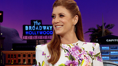 The Late Late Show with James Corden - Kate Walsh Swears Her NYC Apartment Is Great