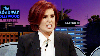 The Late Late Show with James Corden - Sharon Osbourne Once Headbutted a Promoter
