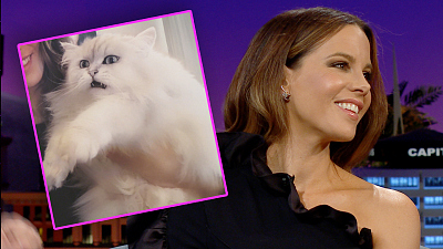 The Late Late Show with James Corden - Kate Beckinsale's Cat Shows Love Through Its Bowels