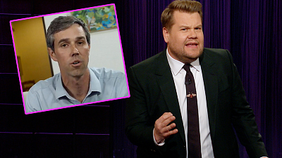 The Late Late Show with James Corden - Trump Has Veto & Beto On His Mind